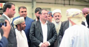 """وفد إيراني يزور مصانع """"فولتامب للطاقة"""""""