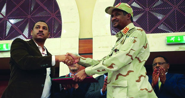 السودان: توقيع الاتفاق السياسي بالأحرف الأولى بعد مفاوضات ماراثونية