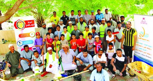 فعاليات وأنشطة متنوعة ضمن برنامج شبابي بدائرة الشؤون الرياضية بجنوب الشرقية