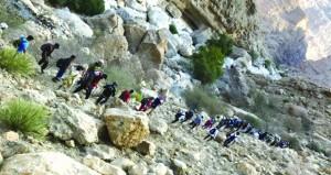 """جبل """"بواليه"""" بقريات يجتذب هواة المغامرة والاستكشاف"""