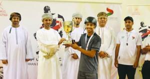 ختام ناجح لبطولة عمان رول بول بمشاركة 90 لاعبا