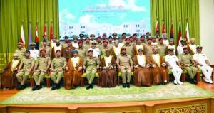 كلية الدفاع الوطني تحتفل بتخريج منتسبي دورة الدفاع الوطني السادسة