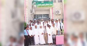 وفد يزور مركز السلطان قابوس الصحي بمحافظة المهرة