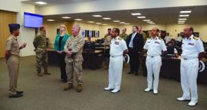 بحث التعاون العسكري بين السلطنة والولايات المتحدة الأميركية