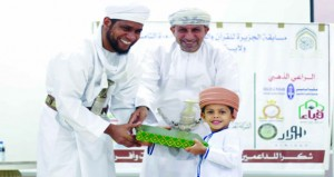 اختتام فعاليات مسابقة القرآن الكريم ببدبد