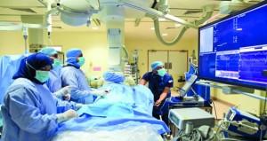 مركز القلب بالمستشفى السلطاني يجري 951 عملية قلب مفتوح و6540 قسطرة خلال عام 2018م