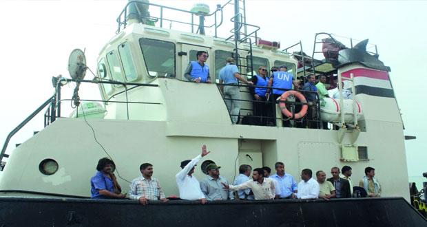 اليمن : (إعادة الانتشار) تبحث آلية فعالة لوقف النار بالحديدة