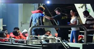روما وفاليتا تدعوان لبحث آلية دائمة لتوزيع المهاجرين
