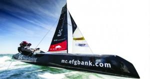 """""""النهضة"""" يحجز المركز الثالث في ختام الجولة الأولى للطواف الفرنسي للإبحار"""