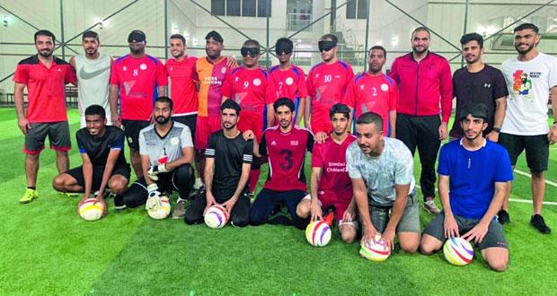 المنتخب الوطني لكرة القدم للمكفوفين يختتم معسكره الداخلي الرابع