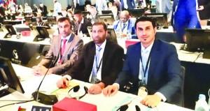 السلطنة تشارك في أعمال اجتماعات الجمعية العمومية للاتحاد الدولي لكرة اليد بالسويد