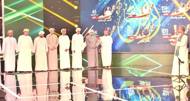 (ليالي المهرجان) : تألق الأغنية الشعبية العمانية بأصوات شابة