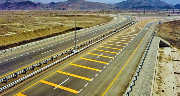 افتتاح 8 كم من (عبري ـ ينقل)