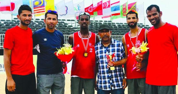 منتخب الطائرة الشاطئية يبدأ الإعداد للمحافظة على لقب البطولة العربية