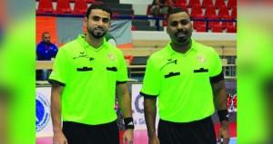 الوهيبي والشحي يشاركان في إدارة مباريات البطولة الآسيوية للناشئات لكرة اليد