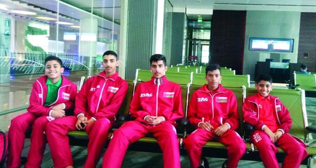 منتخبنا الوطني لكرة الطاولة للفئات العمرية يواصل مشاركته ببطولة غرب آسيا بالأردن