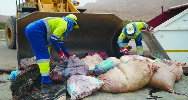 """""""بيئة"""" تتعامل مع أكثر من 30 ألف طن من النفايات خلال فترة عيد الأضحى"""