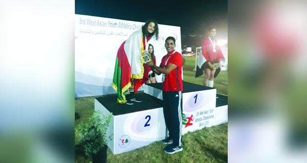 منتخبنا الوطني لألعاب القوى يرفع رصيده إلى ثماني ميدالية ملونة في بطولة غرب آسيا للقوى