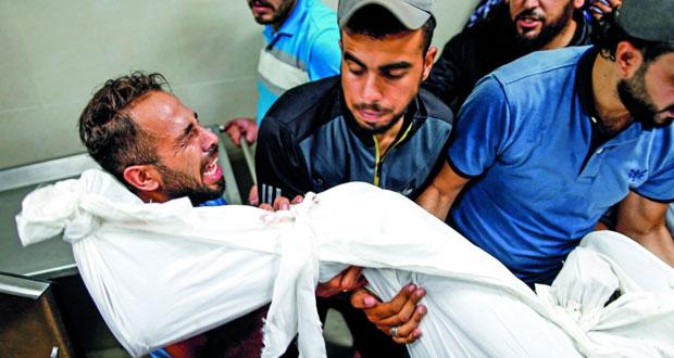 استشهاد 3 فلسطينيين بعدوان إسرائيلي على غزة