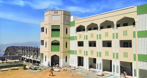 افتتاح مدرستي جبل السراة وينقل بالظاهرة والانتهاء من صيانة أخرى وتعيين 82 معلما جديدا