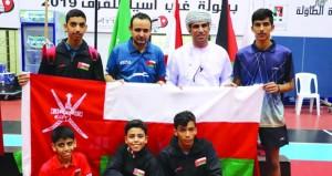 منتخبنا الوطني للبراعم يتألق ويحصد المركز الثالث ببطولة غرب آسيا لكرة الطاولة بالأردن