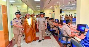 الاحتفال بافتتاح المبنى الجديد لمركز شرطة الخوض ومبنى الخدمات