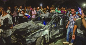 قتلى وجرحى فـي انفجار سيارة مفخخة وسط القاهرة