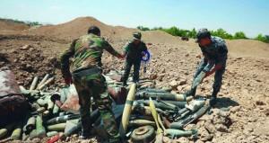 الجيش السوري يضبط شبكة أنفاق وتحصينات للإرهابيين بريف حماة