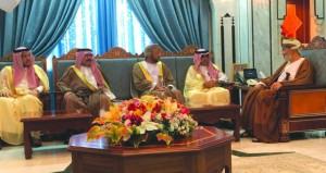 وزير الدولة ومحافظ ظفار يستقبل رئيس المنظمة العربية للسياحة