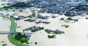 إجلاء 810 آلاف بسبب أمطار غزيرة جنوب غرب اليابان