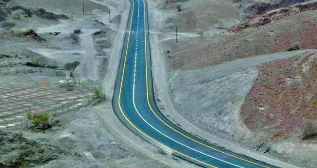 """افتتاح مشروع طريق """"الفي ـ الوجاجه"""" بطول 9 كيلومترات"""