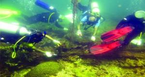 حملة لتنظيف بيئات الشعاب المرجانية بمحمية جزر الديمانيات الطبيعية