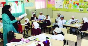 اليوم بدء العام الدراسي الجديد (2019 /2020م) بمختلف مدارس السلطنة