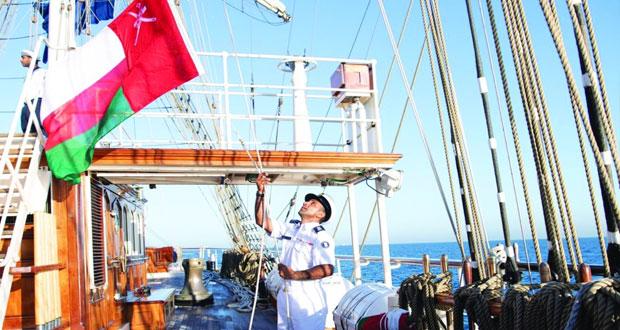 سفينة ( شباب عمان الثانية) تصل المغرب