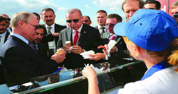 موسكو وأنقرة تتباحثان بشأن حصول تركيا على (سو 57 و35)