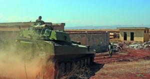الجيش السوري يمشط خان شيخون بعد فرار (النصرة)