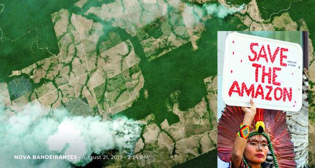 البرازيل ترسل الجيش لمكافحة حرائق الأمازون
