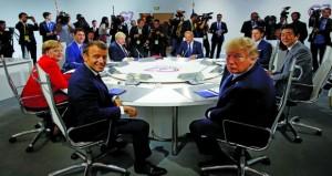 قضايا الأمن الدولي تتصدر اجتماعات اليوم الثاني لـ(السبع)