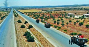 دمشق تدين اجتياز آليات تركية الحدود باتجاه خان شيخون