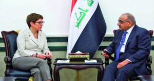 جهود عراقية إيرانية لإعادة فتح منفذ سومار