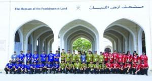 فعاليات معسكر العمل الشبابي الخليجي