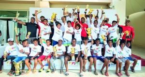 السلطنة تستضيف بطولة آسيا وأوقيانوسي للأوبتمست للإبحار الشراعي بالمدينة الرياضية بالمصنعة