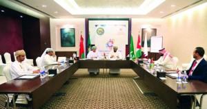 احتفال مبسط ومعبر لمعسكر العمل الشبابي الخليجي المشترك بظفار