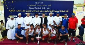 منتخب الطائرة الشاطئية يحافظ على لقبه بالبطولة العربية والناشئين يحرز البرونزية