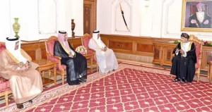 فهد بن محمود يستقبل رؤساء الأجهزة المسؤولة عن الرقابة المالية والنزاهة بدول المجلس