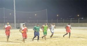 منتخبنا الوطني لكرة اليد الشاطئية يواصل استعداداته لدورة الألعاب العالمية