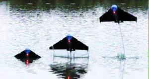 """""""السمكة الطائرة""""… روبوت جديد يمكنه السباحة والطيران"""
