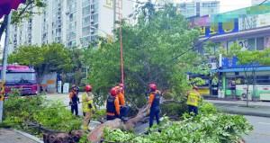 """خسائر كبيرة في كوريا الجنوبية جراء الإعصار """"لينج-لينج"""""""
