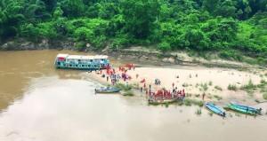 انقلاب مركب سياحي جنوب الهند راح ضحيته 12 شخصا