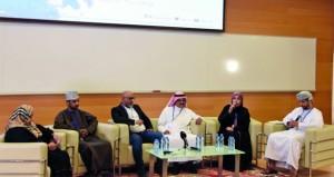 """بدء فعاليات الملتقى الخليجي للفنون التشكيلية تحت شعار """"الفن يجمعنا"""" في صلالة"""